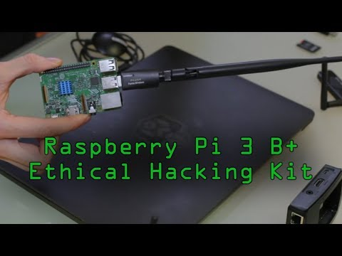Set Up an Ethical Hacking Kali Linux Kit on the Raspberry Pi 3 B+