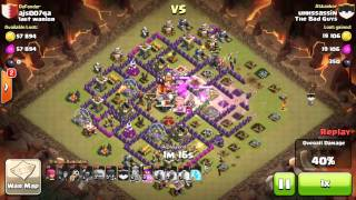 Clash of Clans TH10 vs TH10 - 3 Stars (GoWiWi) [TBG-002]