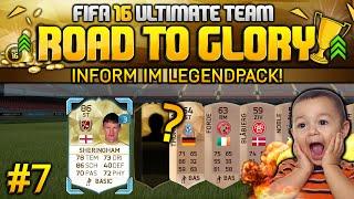 FIFA 16 ULTIMATE TEAM - ROAD TO GLORY - Überraschung im LEGEND PACK! #7 [Deutsch]