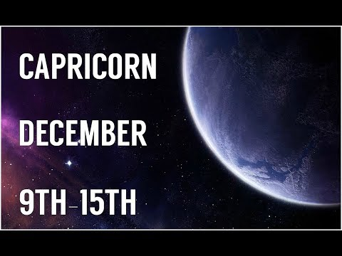 CAPRICORN. .A STORM NEXT TO THE TOWER? DECEMBER 9TH-15TH WEEKLY READING!