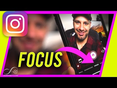 How To Put Background OUT OF FOCUS In Instagram Story
