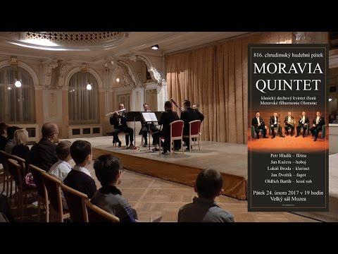 MORAVIA QUINTET - 816. chrudimský hudební pátek - Velký sál muzea v Chrudimi - 24.2.2017