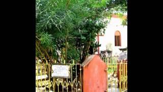 The memory of Thakur Sri Ramakrishna in Barrackpore, India