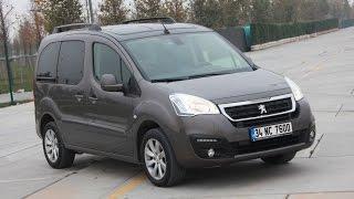 Peugeot partner tepee 1.6 hdi test sürüşü - yorum - inceleme