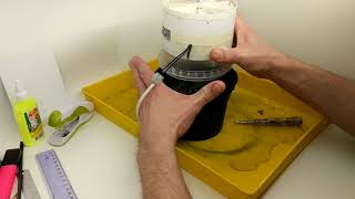 Как сделать воздушный угольный фильтр в домашних условиях.