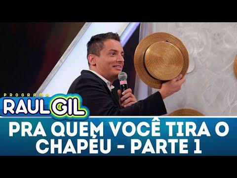 Para Quem Você Tira O Chapéu - Parte 1 - Léo Dias | Programa Raul Gil (28/04/18)