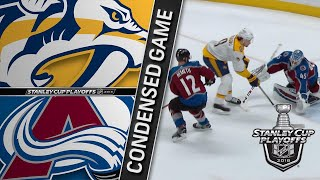 04/18/18 First Round, Gm4: Predators @ Avalanche