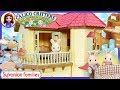 Calico Critters Sylvanian Families Luxury Townhome Beechwood Hall Gift Set Review Set Up Kids Toys