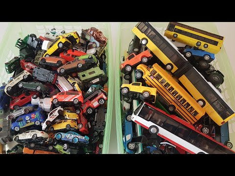 Mega Video For Kids 45 Minutes Cars For Kids Hot Wheels Disney Cars Welly Cars 2 Boxes Full Of Cars