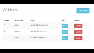 How to create AngularJS CRUD application ( Bangla )