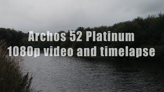 Archos 52 Platinum 1080p video sample