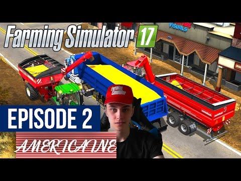 🐄Farming Simulator 17 | La Ferme Americaine | Episode 2 | ÉNORME MOISSON DE MAIS !