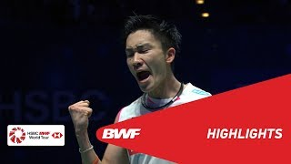 YONEX All England Open | MS Finals Highlights | BWF 2019