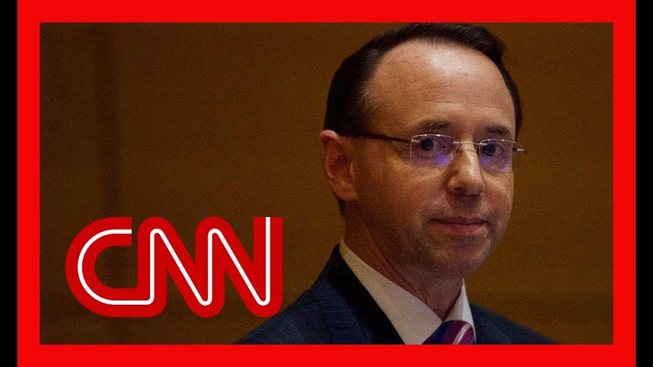 Deputy Attorney General Rod Rosenstein resigns