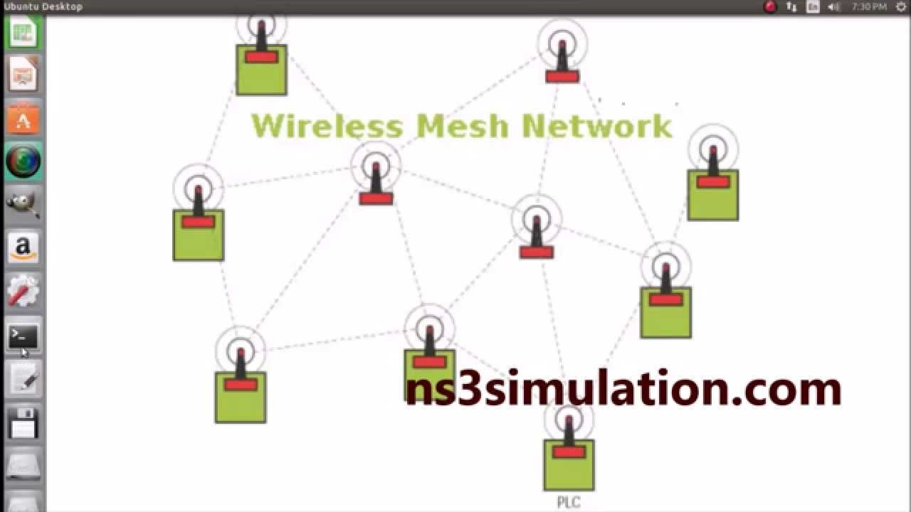Wireless Mesh Network Projects using Ns3 simulation Projects
