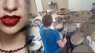 kyle abbott escape the fate situations drum cover