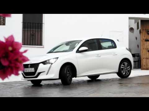 Tarifa escenario del rodaje del nuevo Peugeot 208