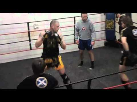 Norrie Mackenzie Eilean Siar Muay Thai @Eclipse Glasgow Interclub March 2011