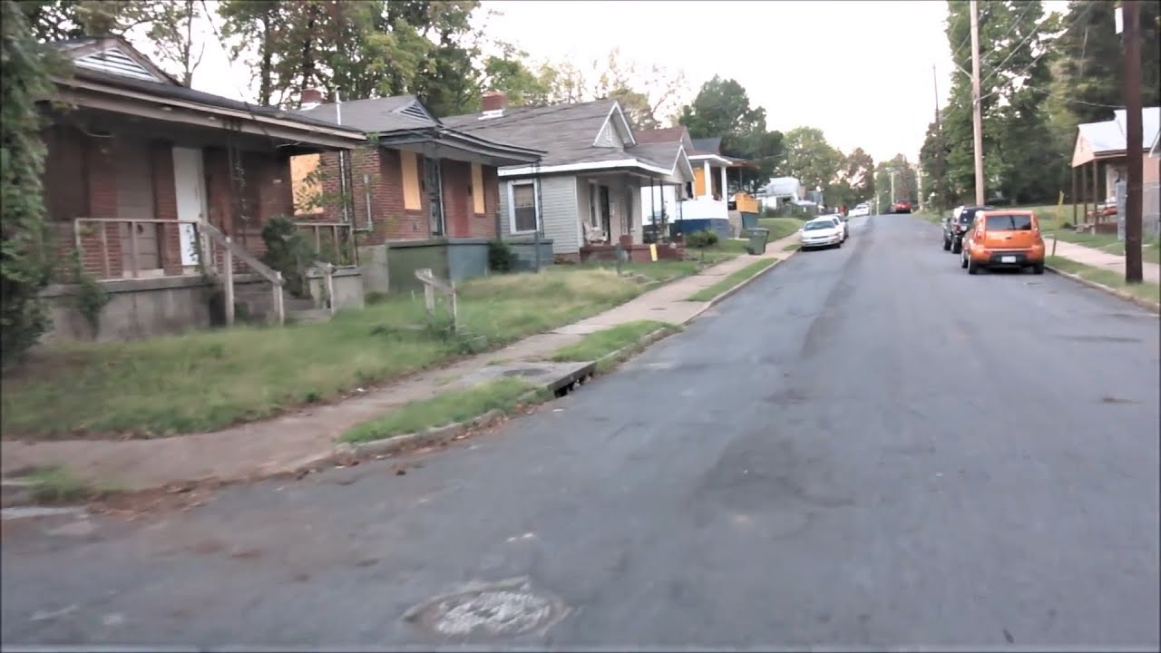THE WORST HOODS OF MEMPHIS DAY & NIGHT COMPILATION VIDEO