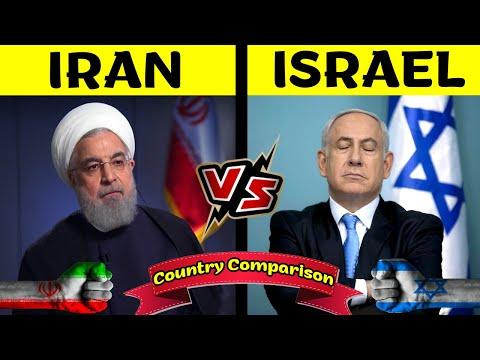 Iran Vs Israel | Country Comparison In Hindi | Israel VS Iran Information 2020