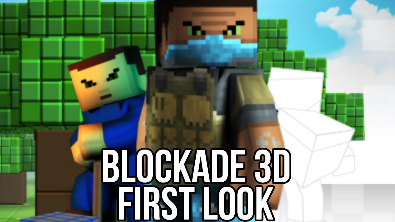 Blockade 3d free online fps watcha playin 39 gameplay 3d on line