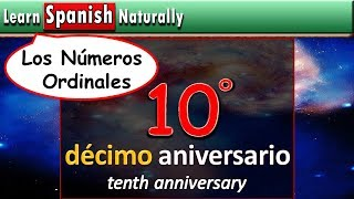 Ordinal Numbers in Spanish | Numbers from First to Twentieth in Spanish | Learn Spanish