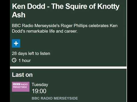 Ken Dodd tribute, BBC Radio Merseyside, 13/03/18, Special