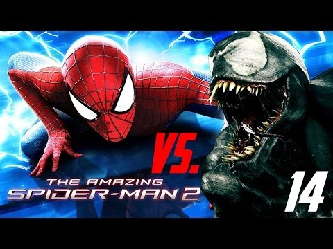 the-amazing-spider-man-2---ios/android---walkthrough/let`s-play---#14-first-fight-with-venom