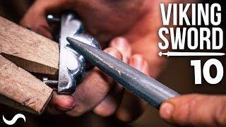 MAKING A VIKING SWORD!!! Part 10