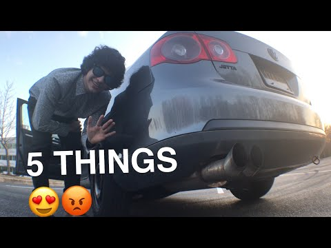 5 THINGS I HATE/LOVE ABOUT SHEILY (My Jetta)