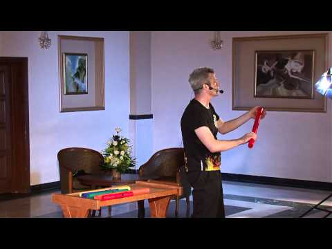 Boomwhackers moment: Dan Popa at TEDxPloiesti