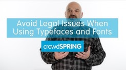 How to Avoid Legal Issues When Using Typefaces and Fonts in Your Small Business Logo