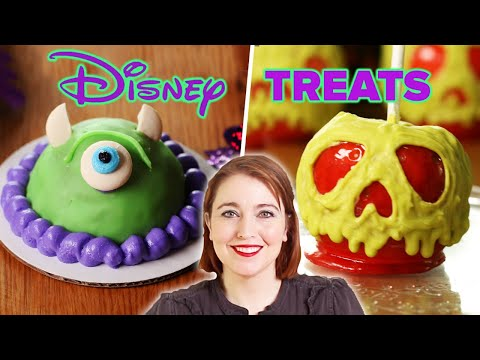 I Tried To Recreate 4 Disney Halloween Treats • Tasty