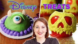 I Tried To Recreate 4 Disney Halloween Treats  Tasty