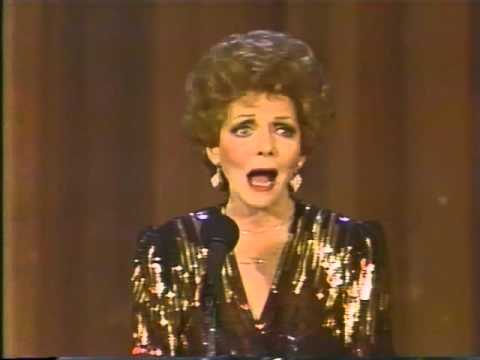 Vivian Blaine--Broadway Baby, Guys and Dolls Medley, 1984 TV