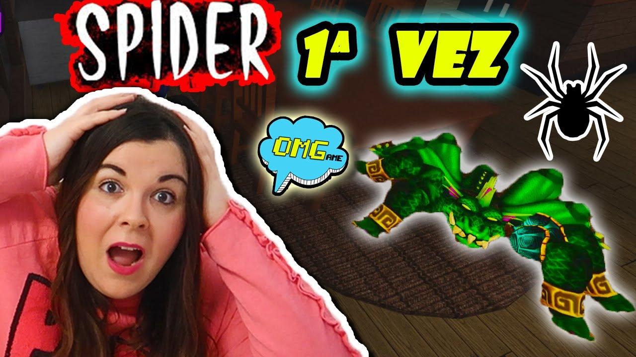MI NOVIA JUEGA POR PRIMERA VEZ A SPIDER ROBLOX 🕷 PIGGY pero ES UNA ARAÑA !! OMGame Retos Divertidos