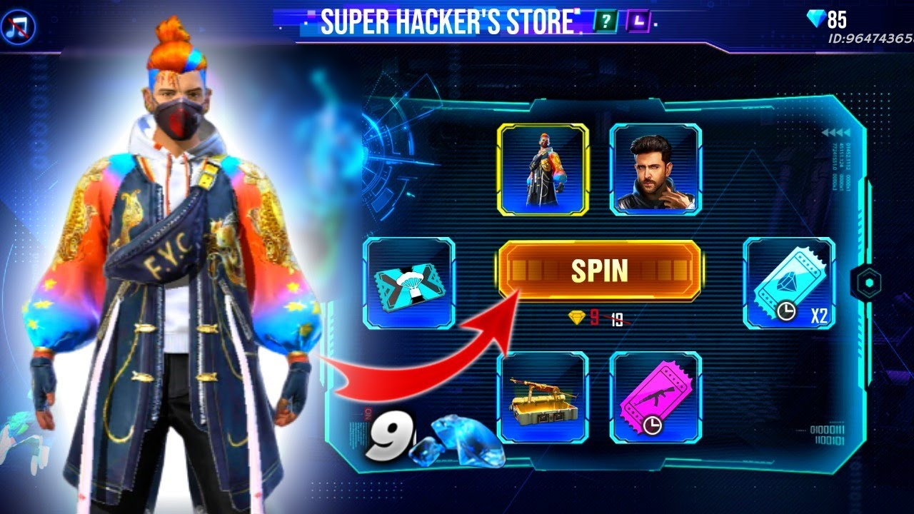 super hacker store free fire