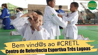 Bem-vind@s ao CRETL! Vem com a gente praticar esporte, aprender e se divertir