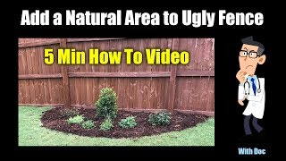 Gambar cover Add Natural Area Garden to Ugly Fences
