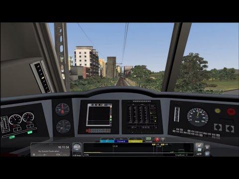 Train Simulator 2016 HD: Operating China Railways HXD3D On ChengYu Railway Part 2 (Cab Ride)