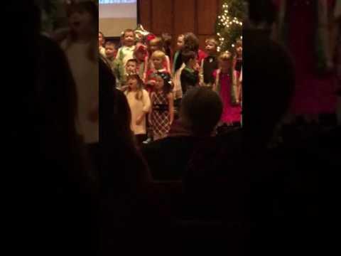 Kollyns' Christmas Program Riviera Christian School Dec 2016