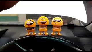 Bouncing Car Dashboard Smileys Emoji Emoticon