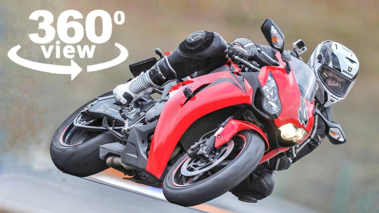 Motor Racing 360 VR Experience Motorbike Virtual Reality