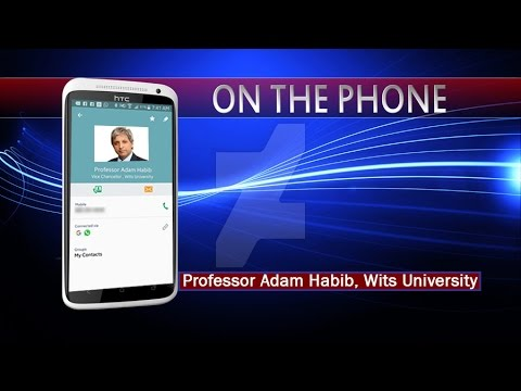 Prof Adam Habib on the future of Wits University