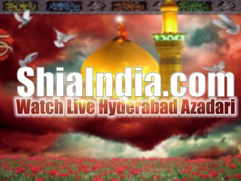 (P1) 25th Jamadi ul Sani Chehlum Majlis of Mir Safder Ali Baqueri at Zaidi Manzil 1438-2017