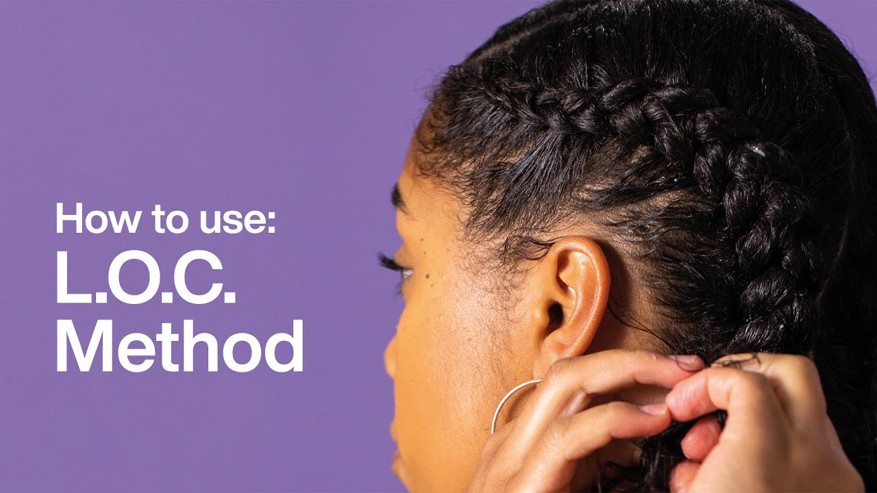 Lush How to Use : Afro Hair Care | Products for the LOC Method