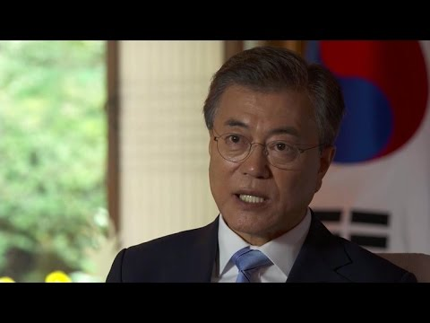 South Korean President Moon Jae-in on Otto Warmbier's death
