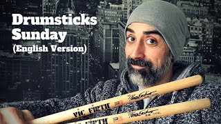 Drumsticks Sunday (Week 82): VicFirth Signature Peter Erskine Ride Stick SPE2 - English Version