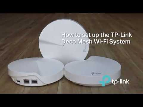 How to setup the TP-Link Deco Mesh Wifi System
