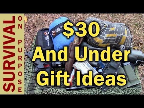 - Outdoor Gift Ideas For $30 Or Less - Christmas Gifts - 2016 - YouTube